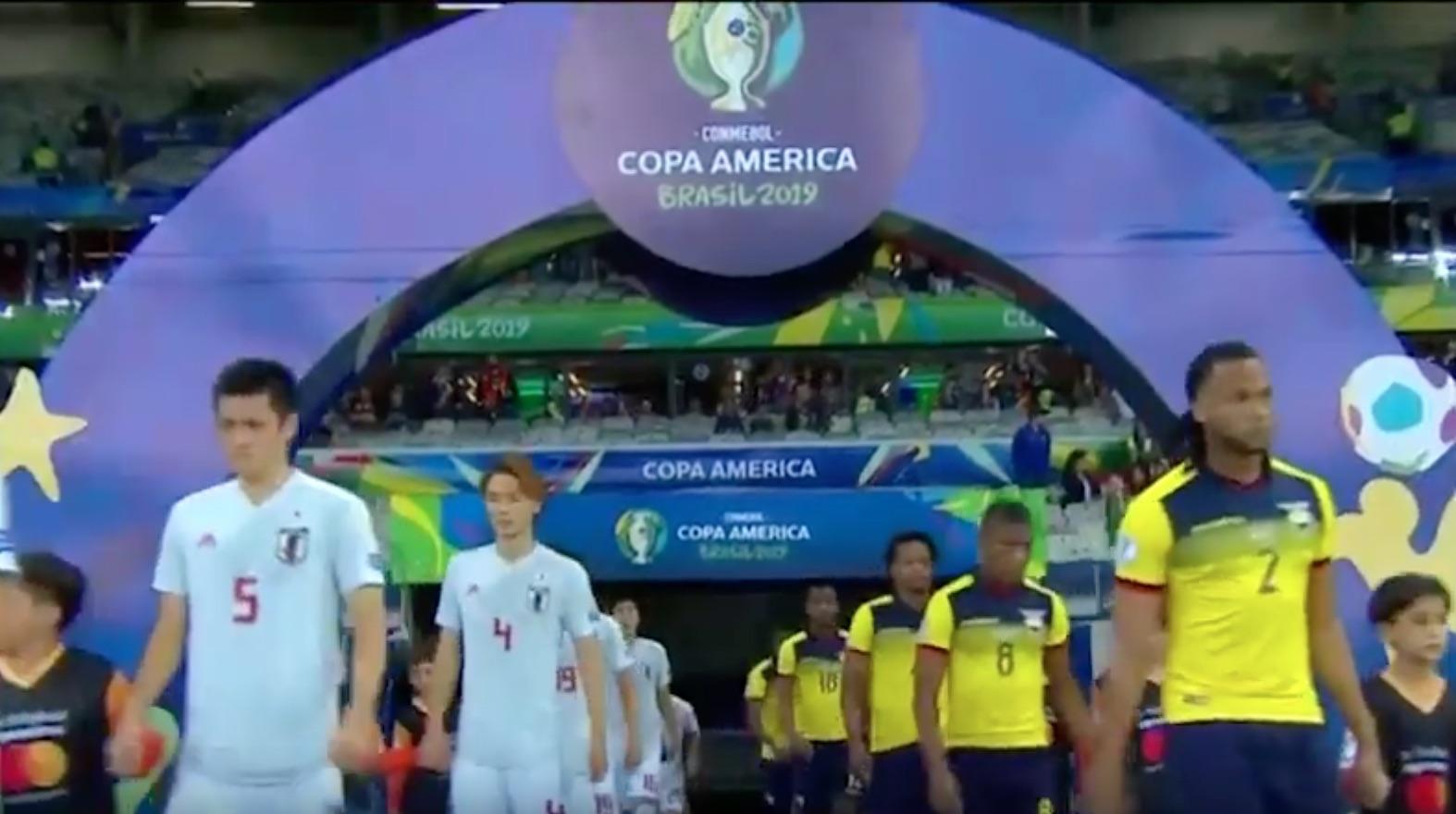 โคปาอเมริกา เอกวาดอร์ 1 – 1 ญี่ปุ่น