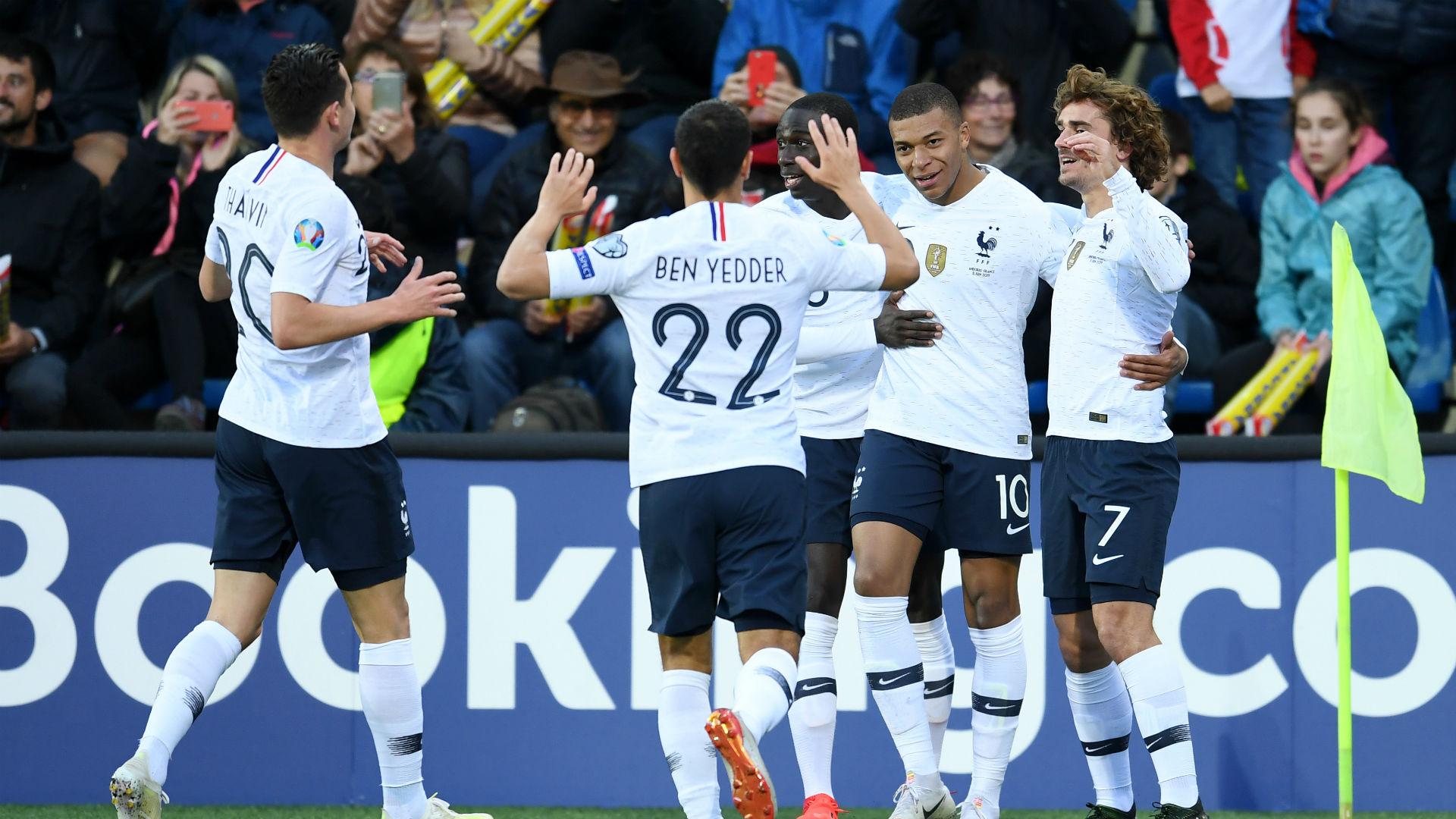 ไฮไลท์ ฟุตบอล อันดอร์ร่า 0 – 4 ฝรั่งเศส